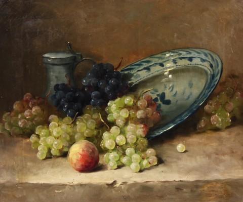 Натюрморт с фруктами. Холст, масло