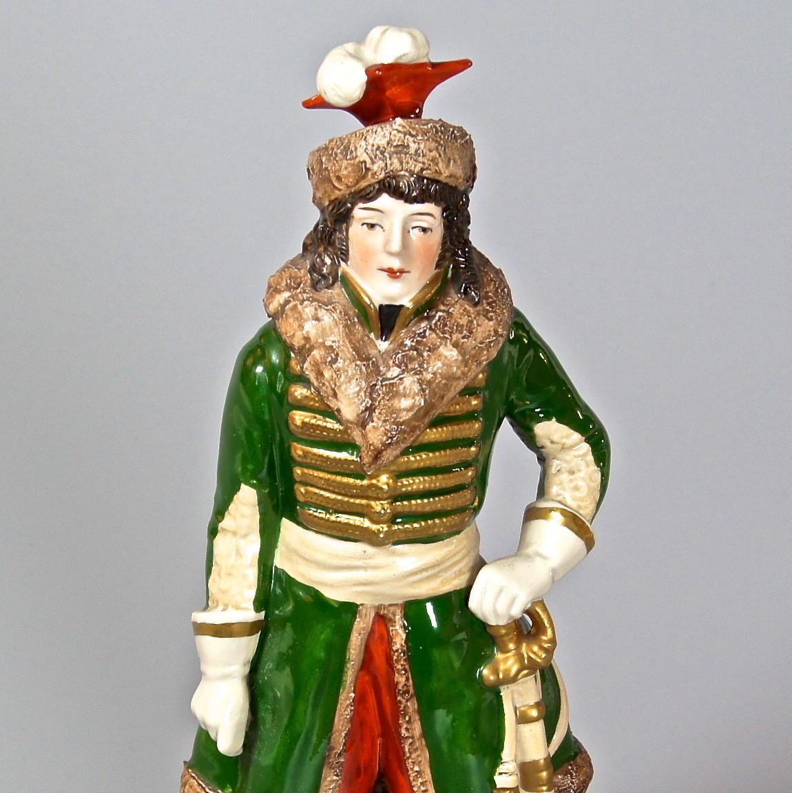 "Коллекционная статуэтка ""Баталия"" Фарфор Европа"