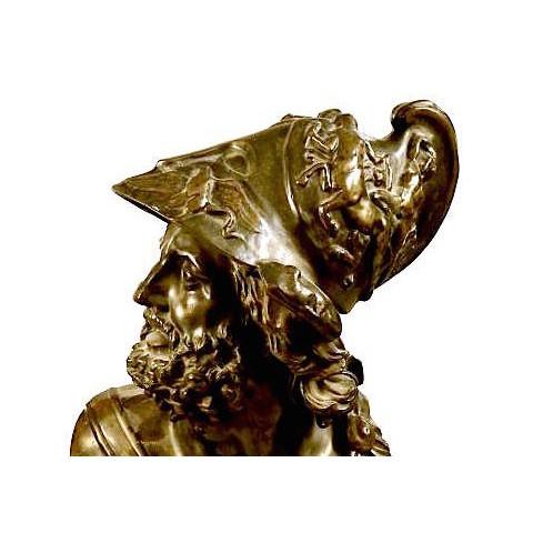 Бронзовый бюст царя Менелая.