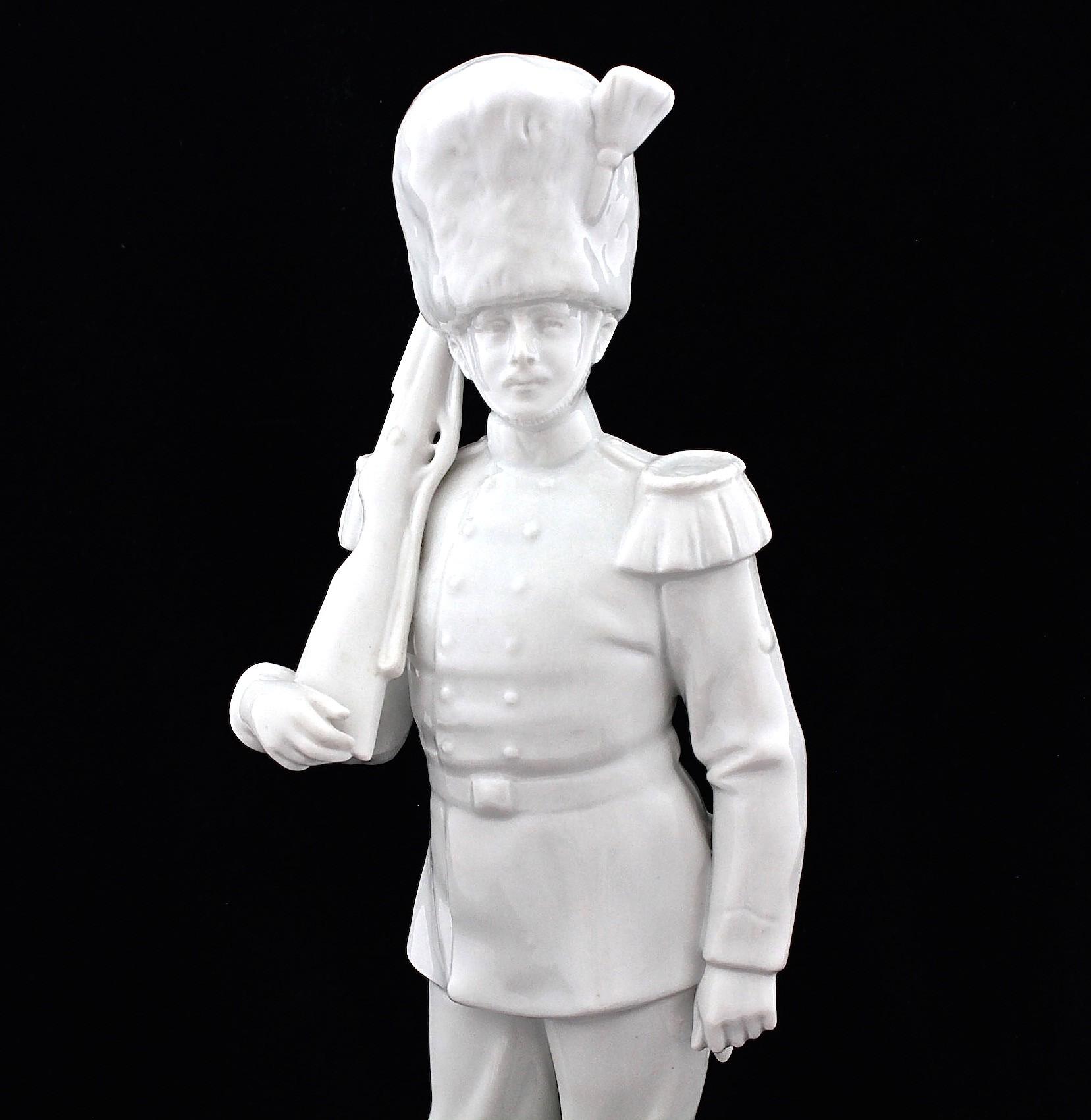 Коллекционная статуэтка. Фарфор. Баталия