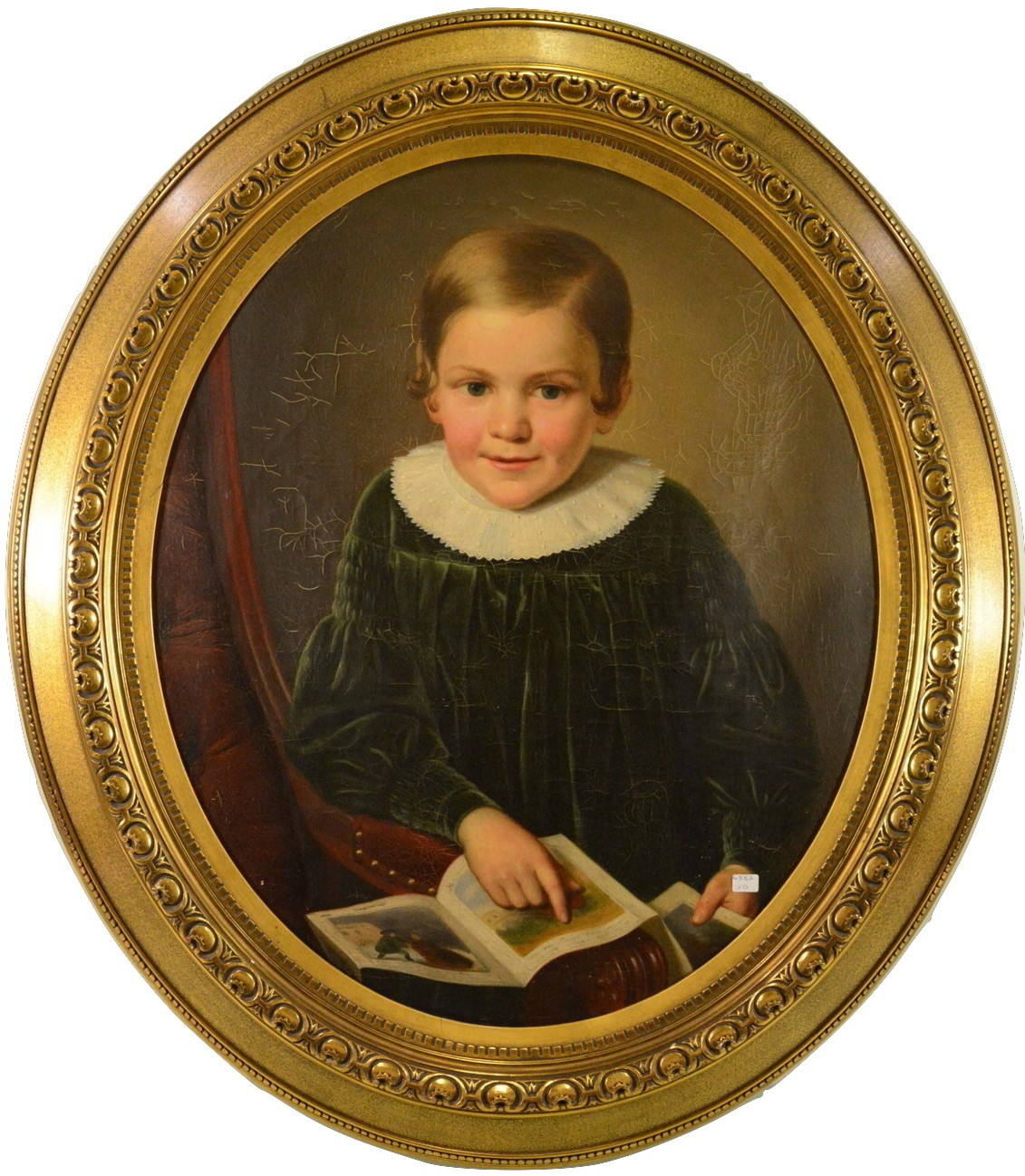 Старинный детский портрет