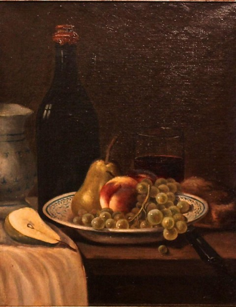 Натюрморт с фруктами. Франция 19 век