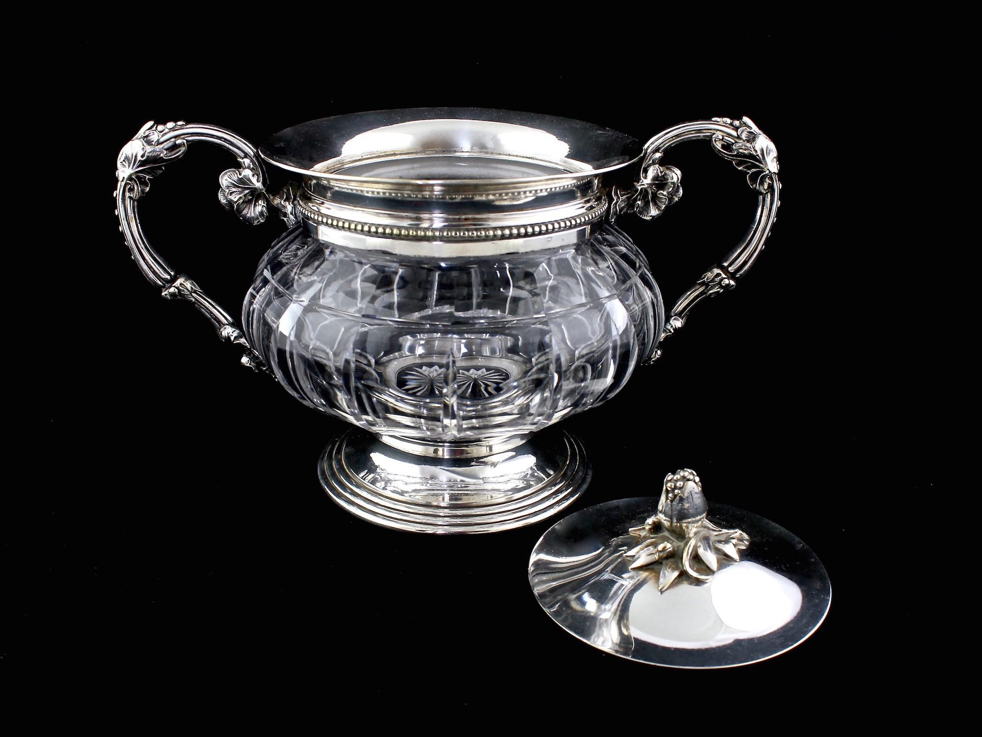 Старинные серебряные сахарницы   Auction.ru - Аукцион для ...