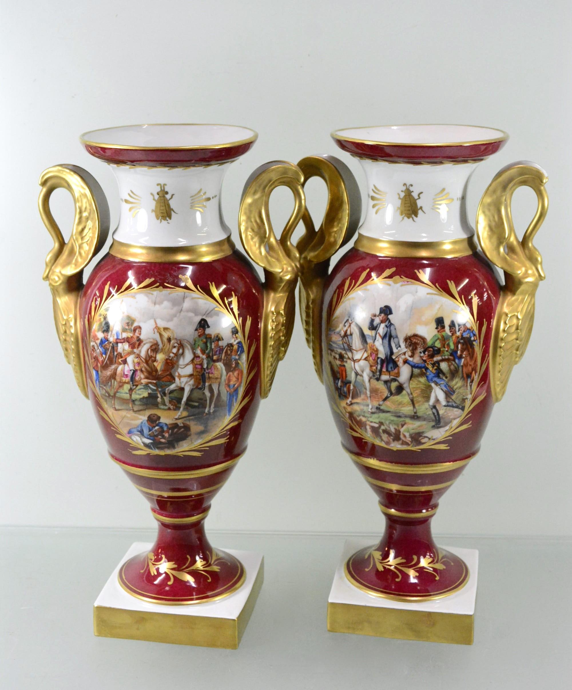 Коллекционные фарфоровые вазы