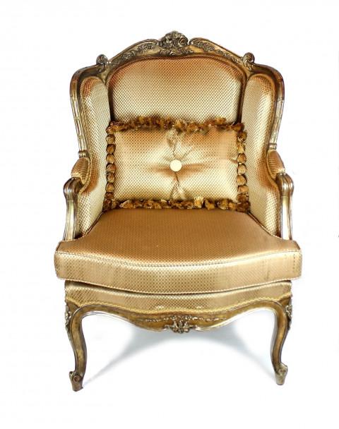 Старинное кресло Бержер