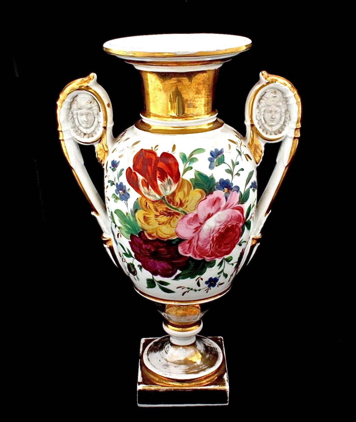 Антикварная ваза для цветов. Франция 19 век.
